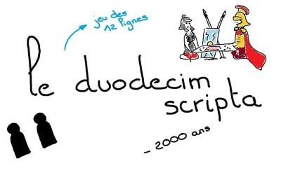 30 jours 30 jeux : le Duodecim Scripta des Romains