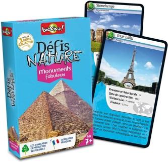 Jeu de cartes sur les monuments historiques