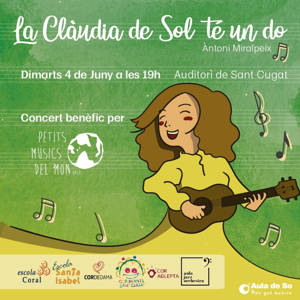 "Benefit concert of support to ""Petits Músics del Món"""