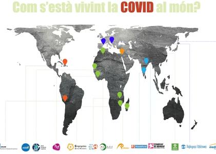 Com s'està vivint la COVID al món?