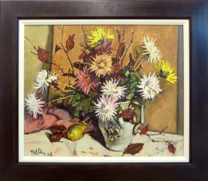 Autumn Still life 68 framed