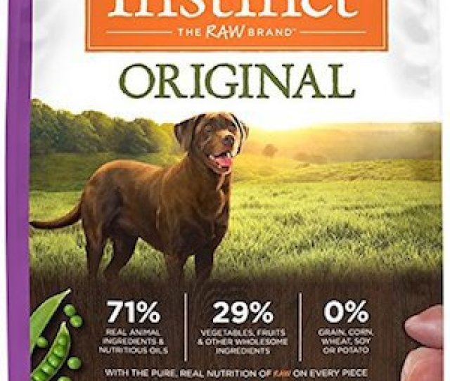 Natures Variety Instinct Original Grain Free Recipe Natural Dry Dog Food