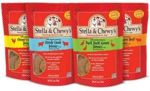 Stella and Chewy's freeze dried raw dinner