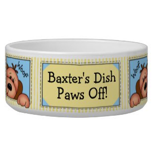 Cute Custom Pet Bowls To Personalize