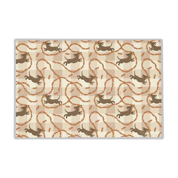 Custom Dog Bowl Placemats