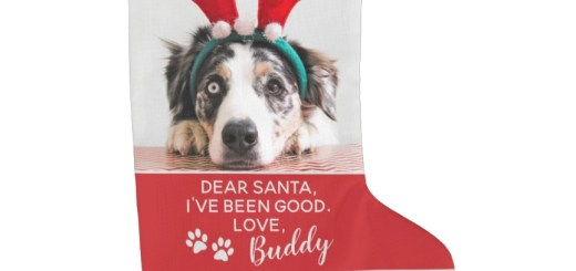 Custom Dog Christmas Stockings - Personalized Gifts