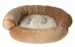 Top Paw Orthopedic Gel Memory Foam Couch Dog Bed