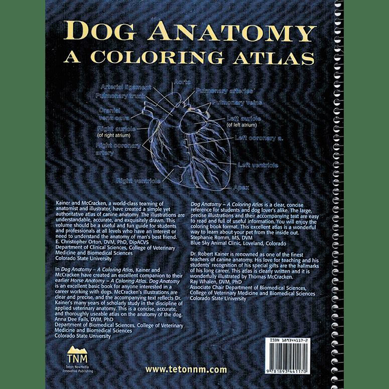 Dog Anatomy: A Coloring Atlas [Book]
