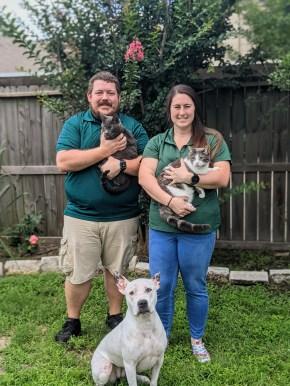 Sydney and Dan family
