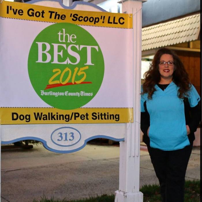 Southern New Jersey residents are thankful they can pick petsitting professionals like Lori Genstein
