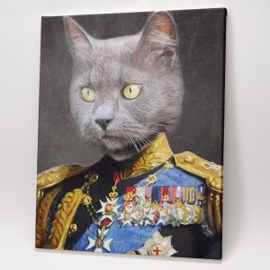 Custom Pet Portraits – The Strong General