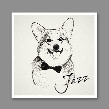 custom dog portrait black and white