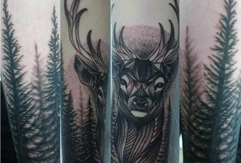 Whatever the case, it is undeniable that wolves are one of the most common popular figures in demand when it comes to tattoos. Top 15 Deer Tree Tattoo Designs Petpress