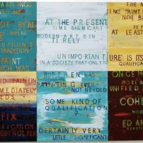 Once More, 2003, acrylic on MDF, 6 pieces, 82 X 83 | Price €6000 / series of 6 pieces