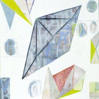 It can also be like this, 2001, acrylic on canvas, 120 x 120 cm. From Ludwig Wittgenstein series | Price €3500