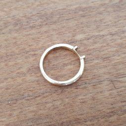Ring ohne Stein