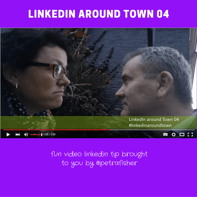 LinkedIn around Town: Potplants and LinkedIn Groups