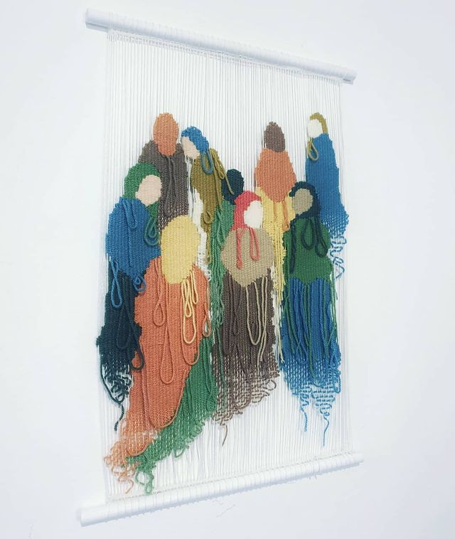Modern Tapestry_Marion Weymes wall hanging