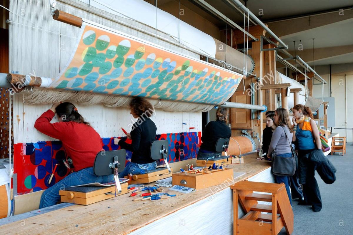 Tapestry weaving_ Les Gobelins Paris