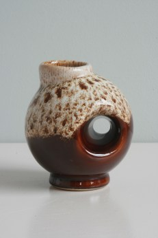 Small hole vase by unknown maker