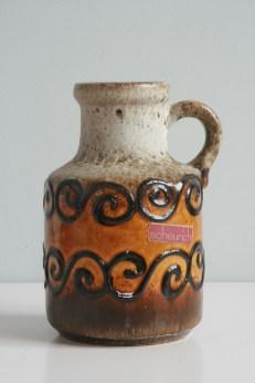 Scheurich handled vase number 414-16