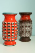 Two vases by Jasba form N 10011 20
