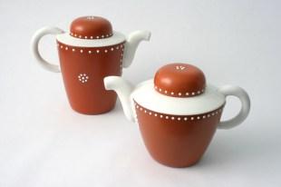 teapot and coffee pot Atelier Van Eyk 1950