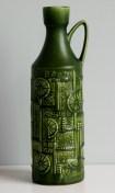 Bay vase with decor Narvik, design Bodo Mans, 1960s, form number 257-35
