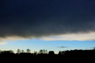 10-Januar kalt, regnerisch, später etwad Sonne
