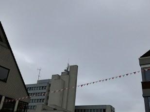 9-Juni bedeckt, wieder kühler