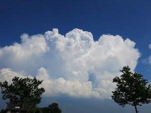 6-Juni schön warm! mit einigen Wolken