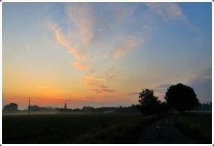 4-Juni bei Batenhorst, wunderschöner Sonnenaufgang