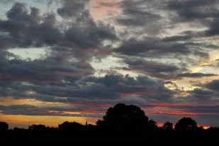 4-August DramaHimmel -Richtung Batenhorst
