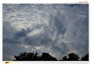 19-August regnerisch und grau!