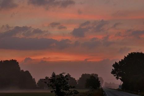2-September ein schöner Morgenhimmel