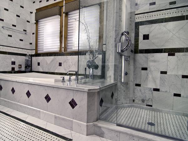 extra considerations for shower tile floors