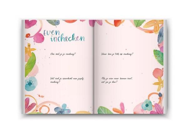 Een boekje vol geluk inzage - even inchecken