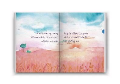 Een boekje vol geluk inzage - spread quote
