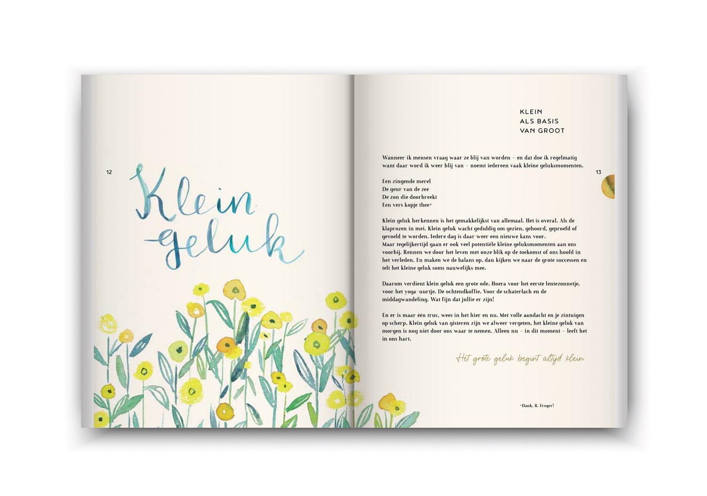 Een boekje vol geluk - klein geluk inzage