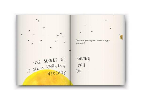 Een boekje vol geluk - petra van dreumel - secret illustratie