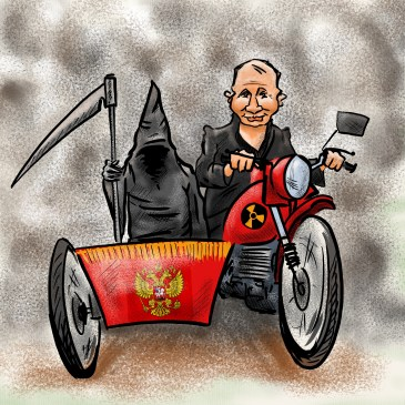 русский мир на марше…