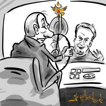 ..Я вернулся..Навальный & путин