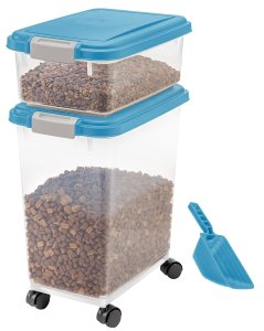 Iris 3 piece dog food storer