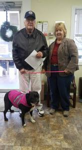 Dog gets a home after nearly 2 years in shelter