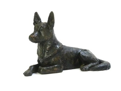 German Shepherd Urn