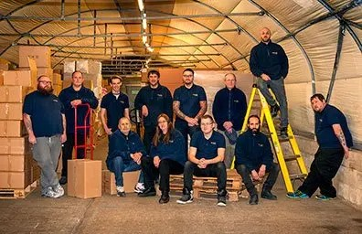 our despatch team take great care with every order