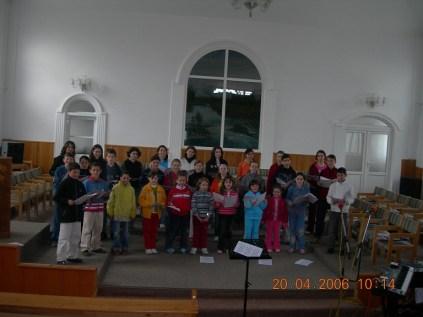 1. Botosani - baptisti - cor copii - aprilie 2006