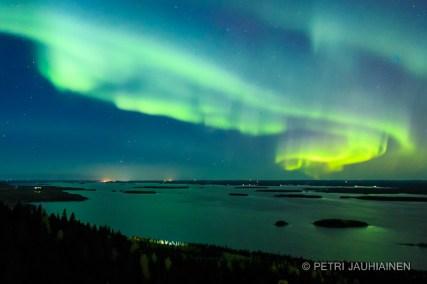 Northern Lights valokuvaaja Petri Jauhiainen