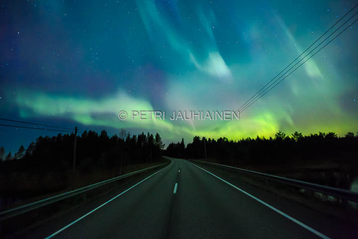 Aurora borealis – Itä-Suomi