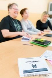 Myyntivalmennuskurssi Kuopion Prismassa valokuvaaja Petri jauhiainen